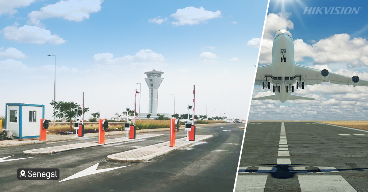 Banner-Senegal's new International Airport chooses Smart surveillance & car parking management from Hikvision
